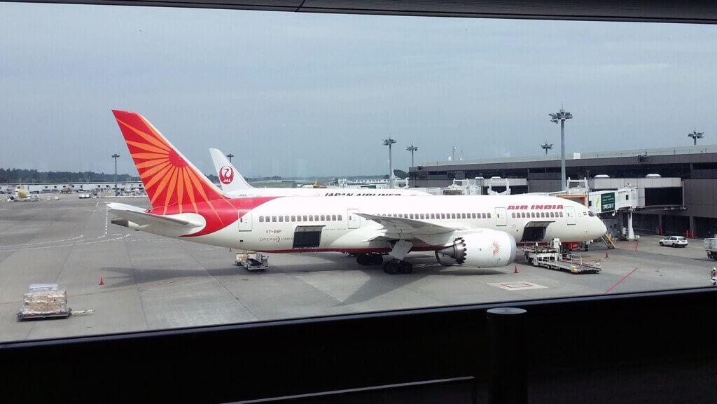 エア・インディアの飛行機