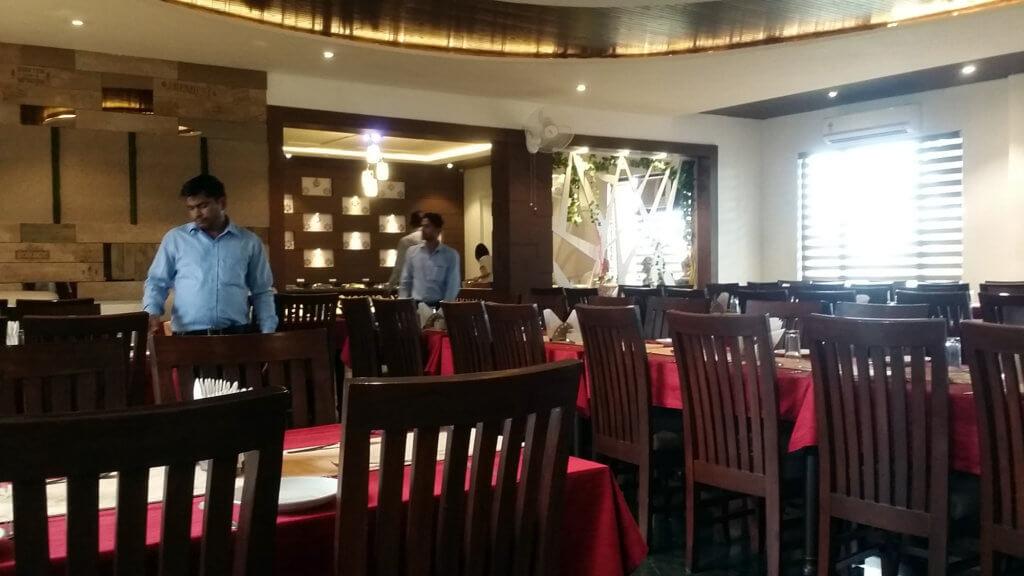 アグラの外国人観光客向けレストラン