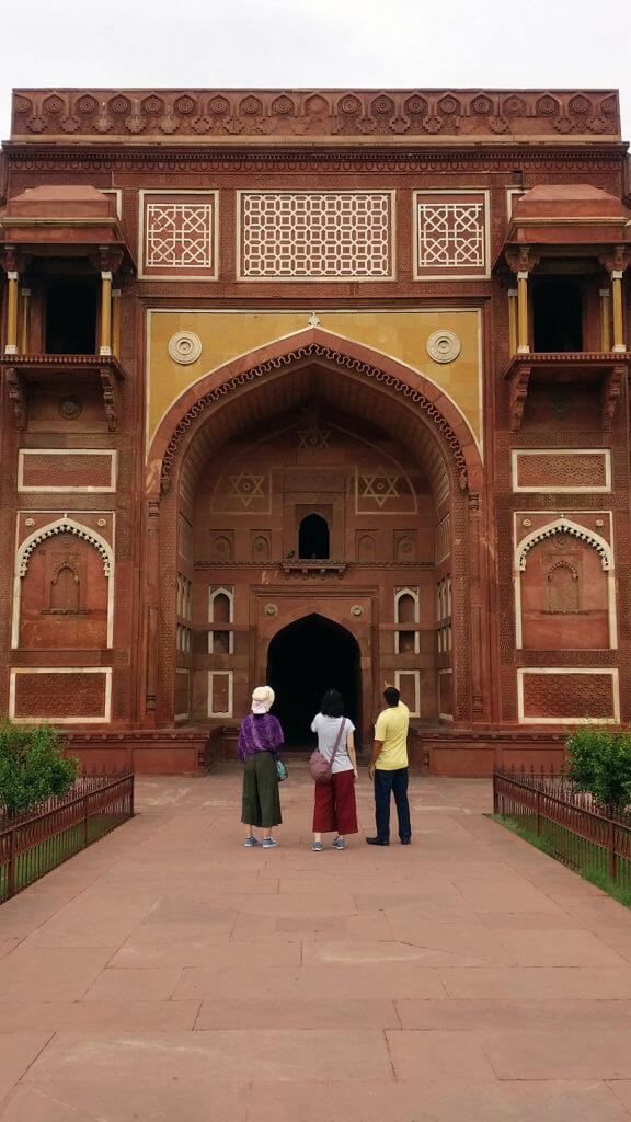 ジャハーンギール宮殿の入口