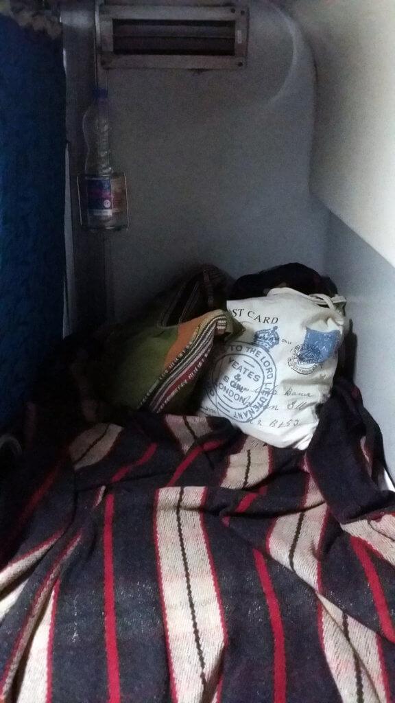プールヴァ急行の2A寝台