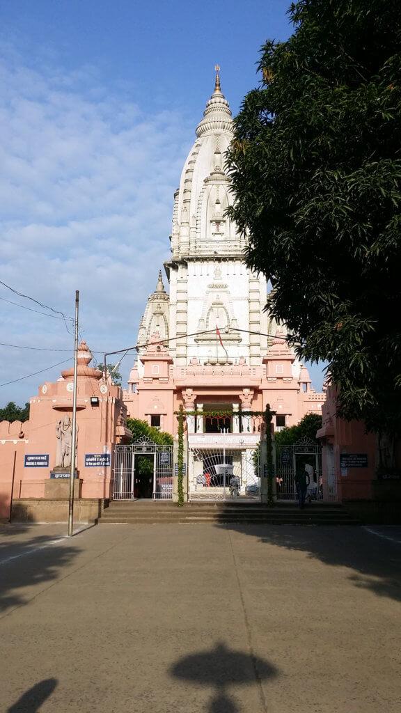 バナーラス・ヒンドゥー大学内のヴィシュワナート寺院